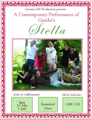 Poster for German 304 Performance of Stella