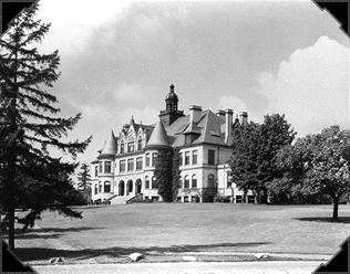 Denny Hall Black & White