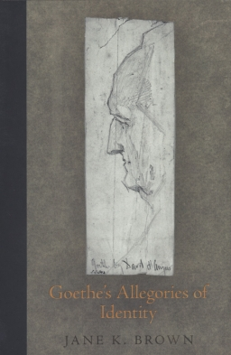 cover image, Goethe's Allegories of Identity