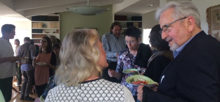 guests at Rick Gray retirement party
