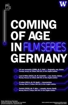Coming of Age in Germany Film Series