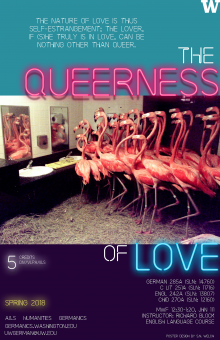 The Queerness of Love course poster UW Seattle