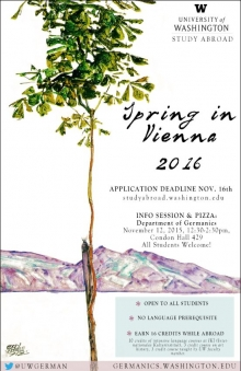 Spring in Vienna 2016 flyer