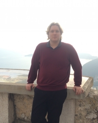 Matthew Childs, in Eze, France