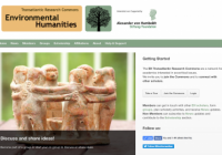 Building an Environmental Humanities Community across Disciplines