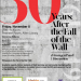 30 Years: After the Fall of the Wall event poster