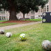 Kick Before the Flick soccer goal wall